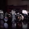 Nikon F2, F2, & F on Portra 160