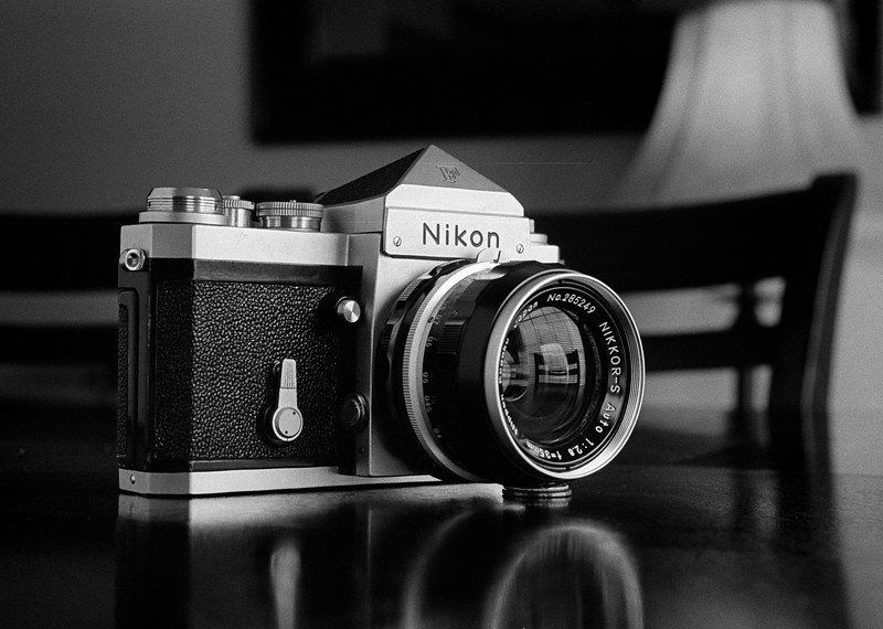 Nikon F on Tri-X - Taken with Leica IIIb / Summitar / Auto-Up