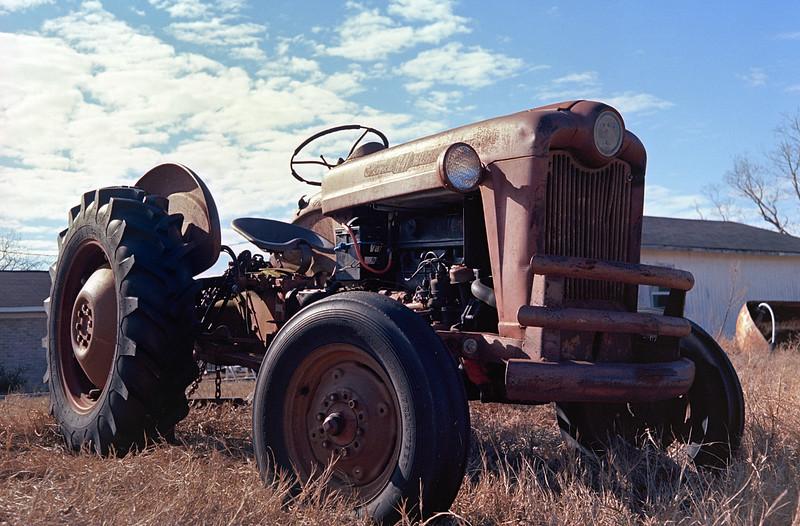 Kodak Ektar 100 with '71 Zorki-4 - 1947 Ford 641 Workmaster
