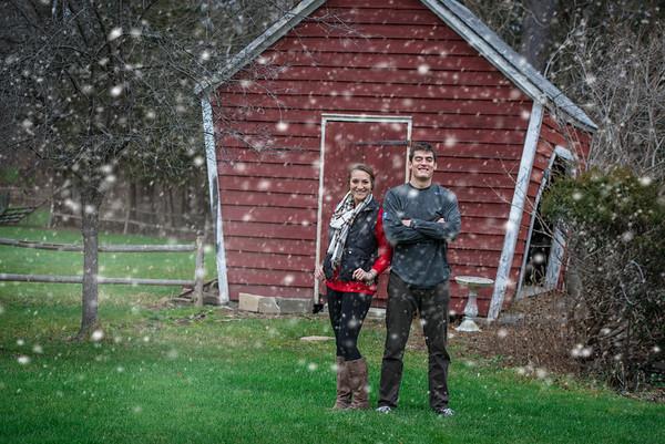 Luke and Julia Goldstock Christmas 2015