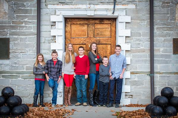 The Porter Family November 2015