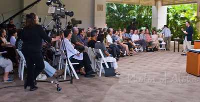 Panel Discussion Participants on Friday, April 4 in The Pavilion