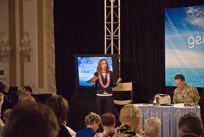 Blue Planet Summit Friday Morning  First Panel: Moderator: Dr. Heidi Cullen David Garman, Former Under Secretary, U.S. DOE Denis Hayes, Earth Day Co-Founder, Bullitt Foundation Douglas M. Muchoney, Group on Earth Observations Bill Paul, Energy Tech Stocks.com Andy Revkin, New York Times