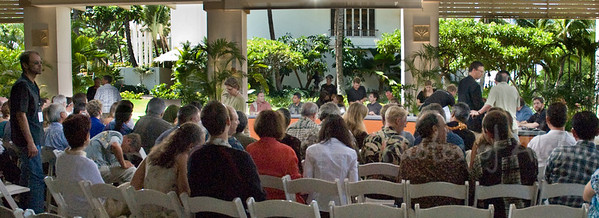 Preparing Panel Discussion Participants on Friday, April 4  Eliot Assimakopoulos, GE  Ramsay Taum, Native Hawai'ian Culture & Sustainability, University of Hawai'i, Co-Founder of Sustain Hawai'i  L. Hunter Lovins, Natural Capitalism, Inc.  Andy Revkin New York Times  Dr. Heidi Cullen, Scientist, The Weather Channel  R. James Woolsey, Vantabe Point Venture Partners, former CIA  Elizabeth K. Lindsey, Explorer, National Geographic Society  Dr. Stephen Schneider, Stanford University, IPCC  Jeffrey Izzo, U.S. Department of State  Gal Luft, Institute for Analysis of Global Security