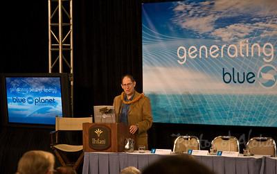 Blue Planet Summit Friday Morning   Presentation: Climate Change: How Do We Manage the Risks?  Dr. Stephen Schneider, Nobel Peace Prize winner, Environmental Scientist