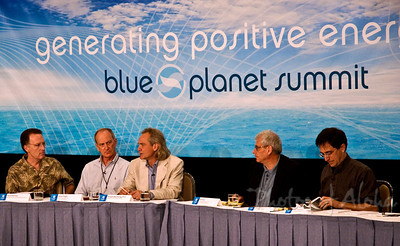 Blue Planet Summit   First Panel: David Garman, Former Under Secretary, U.S. DOE Denis Hayes, Earth Day Co-Founder, Bullitt Foundation Douglas M. Muchoney, Group on Earth Observations Bill Paul, Energy Tech Stocks.com Andy Revkin, New York Times