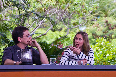 Panel Discussion Participants on Friday, April 4 in The Pavilion  Andy Revkin New York Times  Dr. Heidi Cullen, Scientist, The Weather Channel