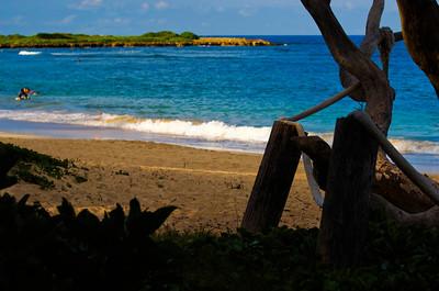 Maleakahana Camp Grounds, Malaekahana Bay between Laie and Kahuku, on Oahu's North Shore, Hawaii
