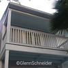balcony over front door