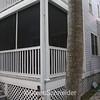 back yard porch