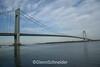 The Verrazano Narrows Bridge. Photo taken from Staten Island looking towards Manhattan & Brooklyn. Dec 2007