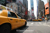 NYC Taxi in Times Square