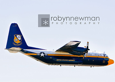 "The Blue Angels C130 Transport (affectionately called ""Fat Albert"")"