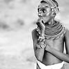 Local boy in traditional dress, Samburu, Kenya