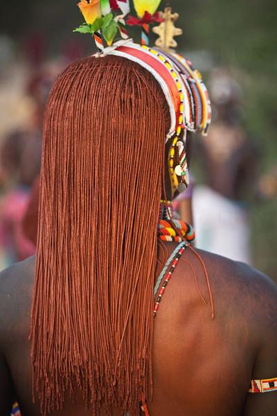 Local man in traditional dress, Samburu, Kenya