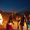 Local people in traditional dress, Samburu, Kenya
