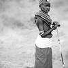 Local girl n traditional dress, Samburu, Kenya