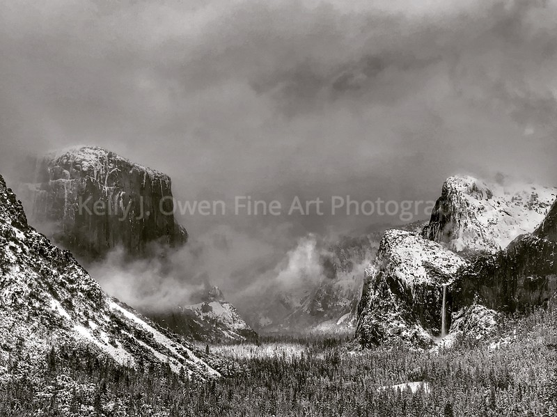 Breaking Winter Storm - Yosemite National Park