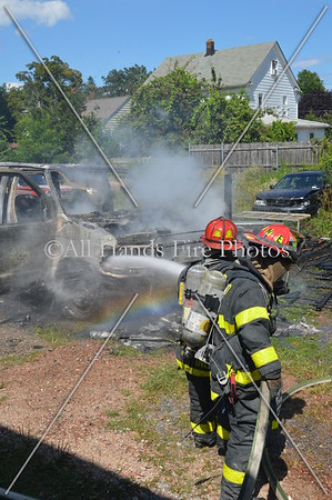 20130730 - Locust Valley - Vehicle Fire