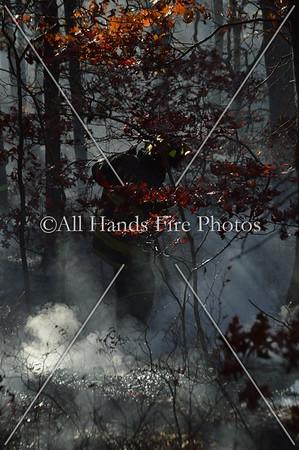 20131104 - Farmingdale - Brush Fire