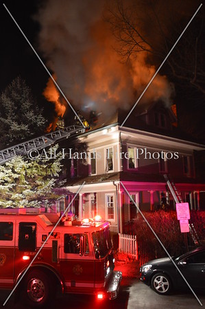 20131227 - Sea Cliff - House Fire