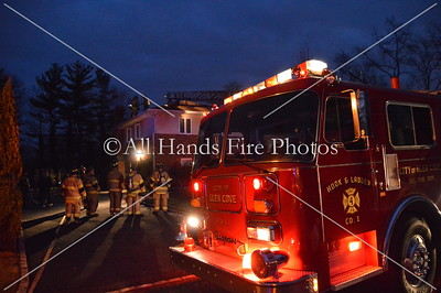 20140106 - Glen Cove - Chimney Fire