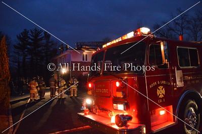 20140106 - Glen Cove - Chimney Fire