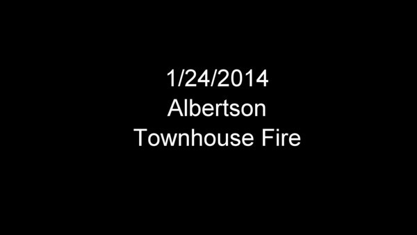 20140124 - Albertson - Buildinf Fire