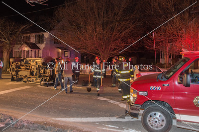 20140304 - Oyster Bay - Overturned Auto