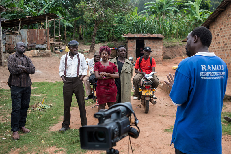 On Set in Wakaliwood