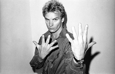 Sting, Bayswater, London (1977)