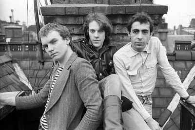 The Police, Green Street, London (Jan 1977)