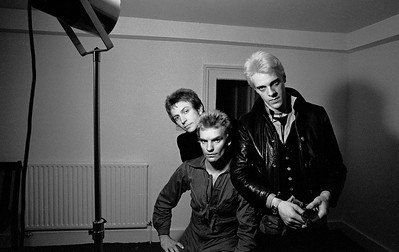 The Police, Bayswater, London (1977)