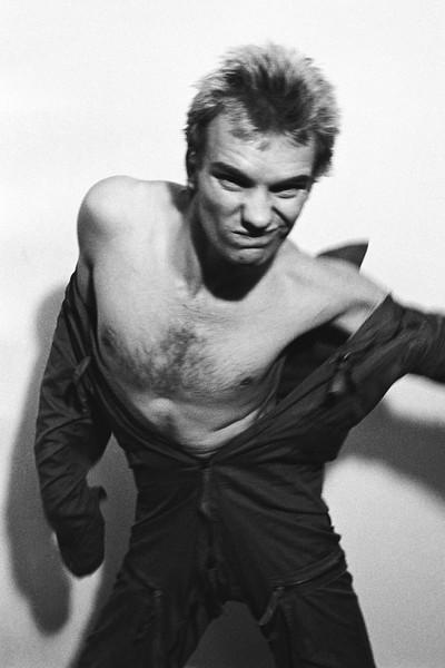 Sting, Bayswater, London (1977)