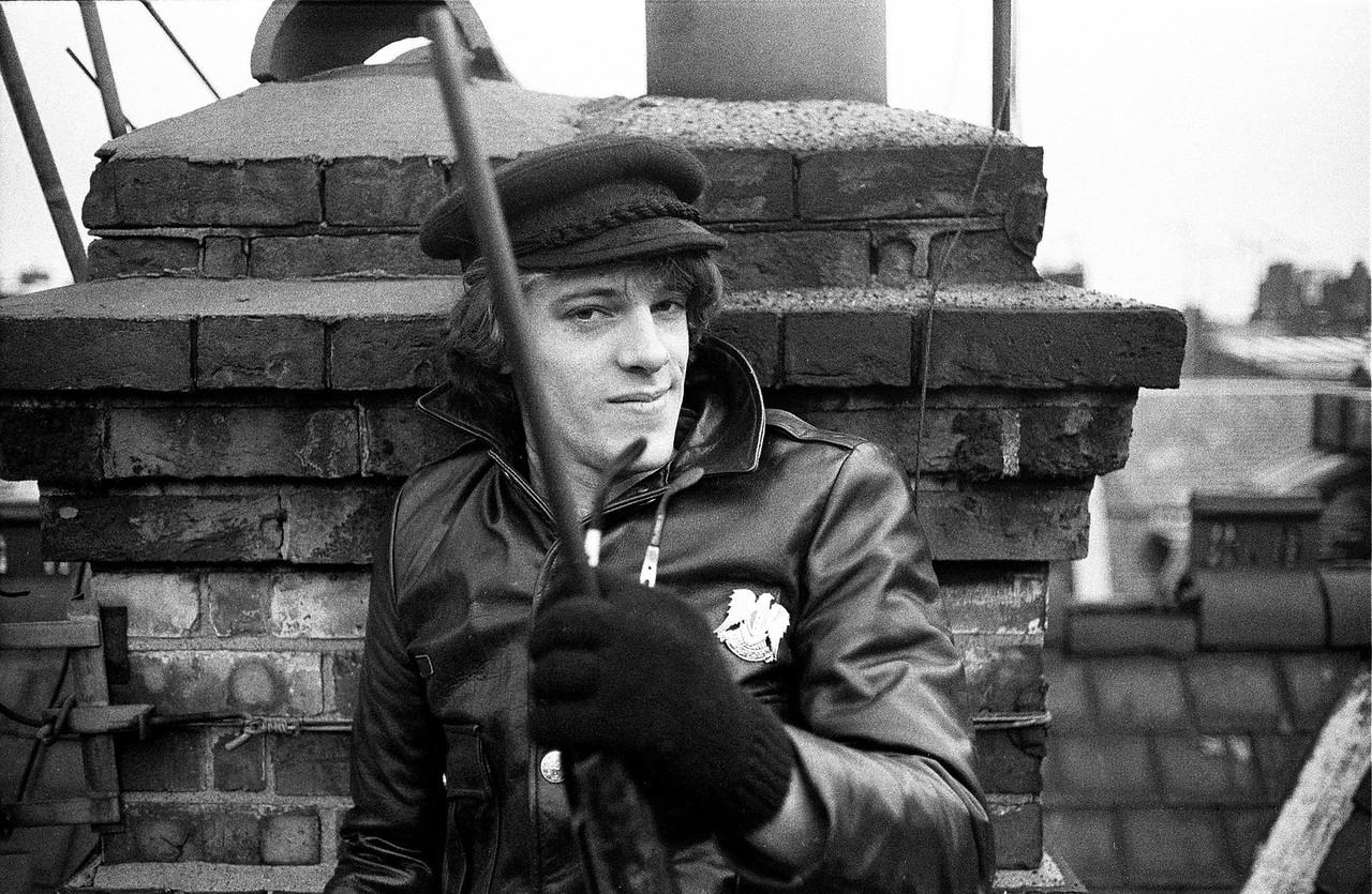 Stewart Copeland, Green Street, Mayfair (Jan 1977)