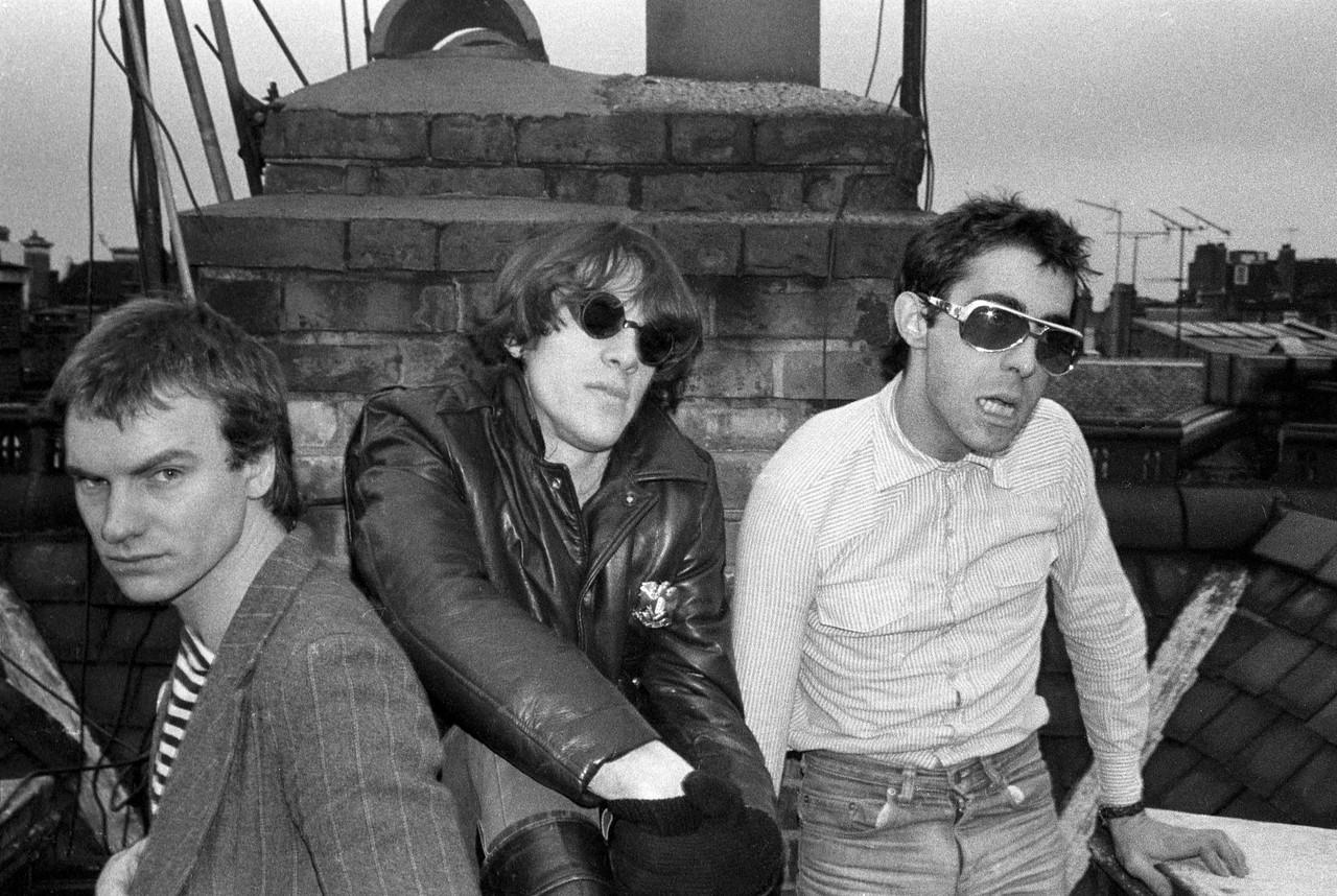 The Police, Green Street, London (Jan 1977)