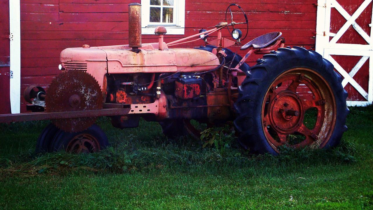Timeworn Tractor