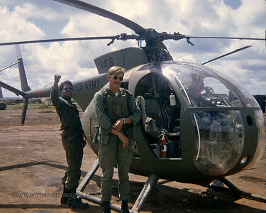 LOH (Light Observation Helicopter), FSB Buttons, Song Be, Vietnam
