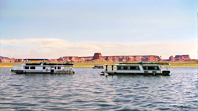House Boats, Lake Powell, Arizona