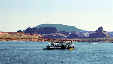 House Boat, Lake Powell, Arizona