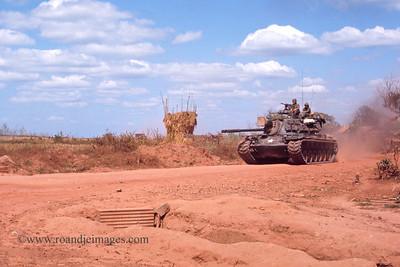 Tank near Phuoc Vinh,  Vietnam