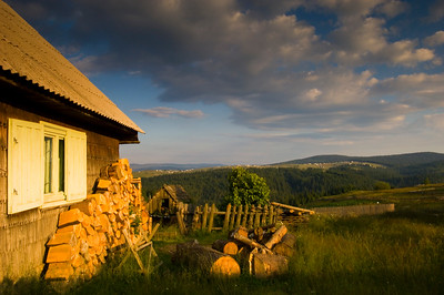 Europe, Romania, Transylvania, The Apuseni Mountains, Marisel village