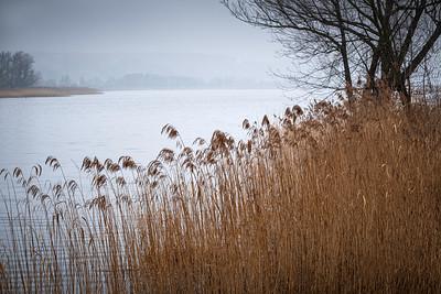 """Reservoir """"Pasternak"""" on Kamienna River, Starachowice, Swietokrzyskie, Poland"""