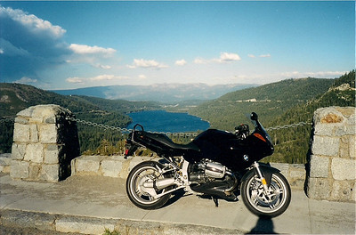 Overlooking Donner Lake and Truckee