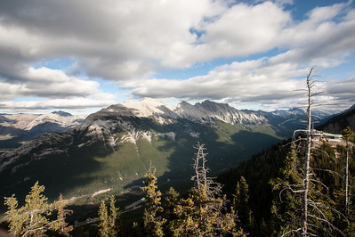 View from the Banff Gondola