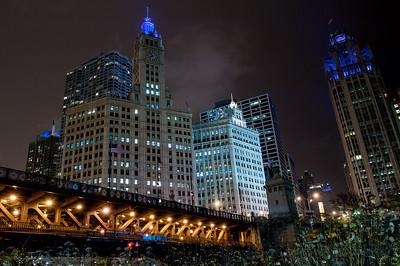 Chicago Night Stroll