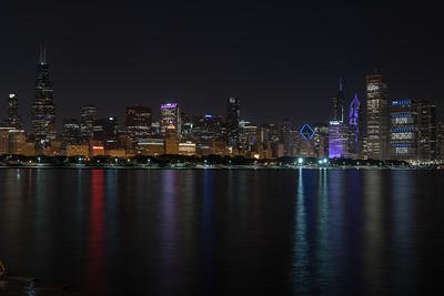 Skyline from Adler Planetarium