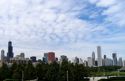 Skyline from the Field Museum
