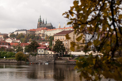 Prague Castle across the Vltava