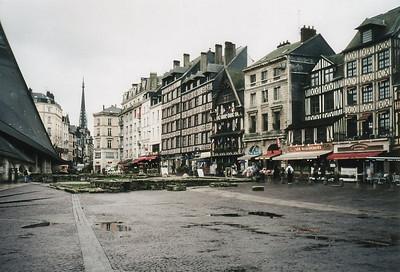 The Rue du Gros-Horloge